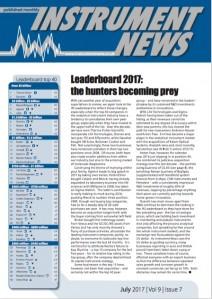 Instrument News - July 2017