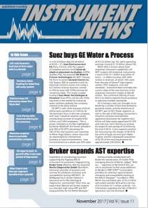 Instrument News - November 2017